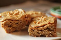 Who remembers these? We had these in our school lunchroom. Back in the days when school lunches were great! peanut butter bar cookies - the lunchroom lady's best recipe!