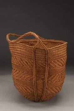 A basket by Jennifer Heller Zurick.