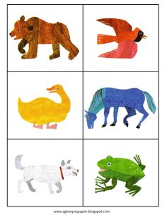 Brown Bear Brown Bear What Do You See Printables Brown bear brown bear ...