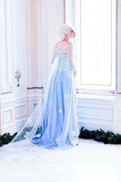 costum, wedding dressses, disney style, art, disney princess, cosplay elsa, the dress, frozen cosplay, disney frozen