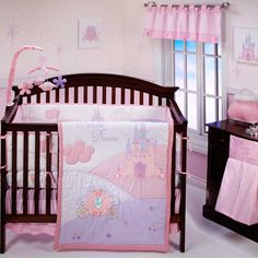 Princess nursery if the baby is a girl