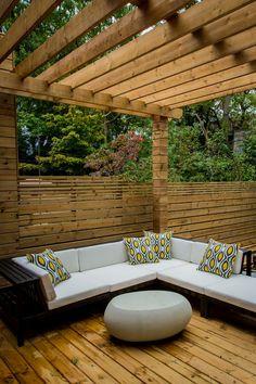 house tours, backyard urban, back patio, privacy fences, nest