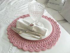 AnaZard - Atelier crochet placemat, sam8031, doili placemat, pretti crochet, crochet doilies