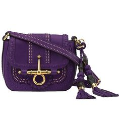 Gucci 263956 ANG0G 5209 Snaffle Bit Small Shoulder Bag Violet [dl16556] - $260.89 : Gucci Outlet, Cheap Gucci online,Gucci UK