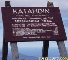 Mt Katahdin...did that