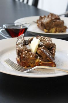 Baked Perfection: Overnight Gingerbread French Toast and Overnight Eggnog French Toast