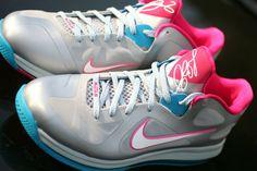 "Nike LeBron 9 Low - ""Fireberry"" (New Images) | KicksOnFire"