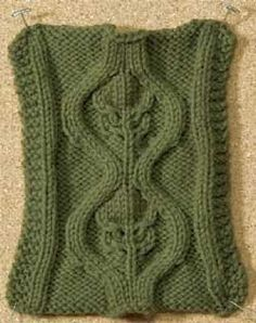 Bromeliad Cable #knitting