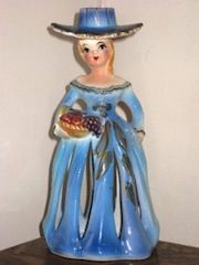 From vintage napkin dolls