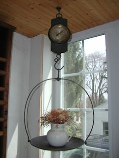 My antique hanging scale