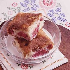 Old-Fashioned Rhubarb Cake..This has been my go to spring rhubarb recipe for many years! The best..
