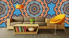 Moroccan Wallpaper Style