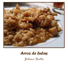 arroz de lulas