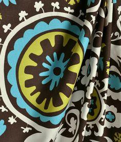Premier Prints  Suzani Chocolate/Natural