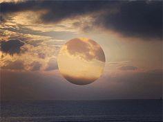 Moonset Micael Reynaud Animated GIFs by Micael Reynaud