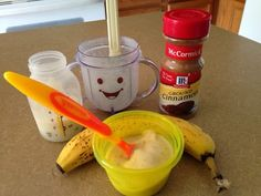 """Diary of a Fit Mommy: Breastmilk Banana """"Ice Cream"""" for Teething Babies"""