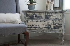 Blue chippy dresser