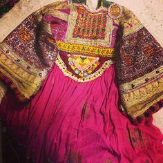 Afghan wedding dress #vintage