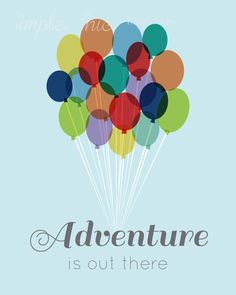 Adventure is out there- Printable Wall Art- Nursery