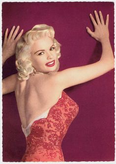 Jayne Mansfield's back is as sexy as her front!