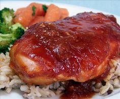 Weight Watchers Teriyaki Sticky Chicken: 4 servings; 4 pts. per serving