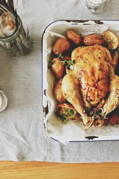 Comforting Roast Chicken