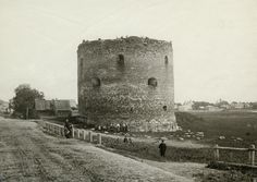The White tower - defense tower in Velikij Novgorod; picture circa 1900