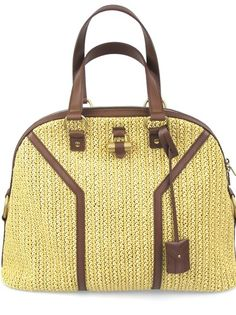 #YSL Straw Muse Bag #socialiteauctions #consignment #ebay $800