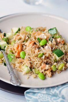 Zingy Salmon & Brown Rice