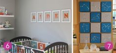 Roundup: 10 Easy DIY Nursery Wall Art Ideas