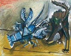 Le homard et le chat, 1965 | Picasso