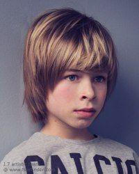Boys haircut that covers the ears