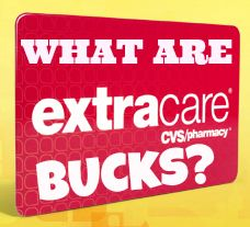 What are Extra Care Bucks at CVS?