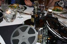 Movie reel centerpiece