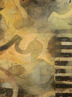 """Bill Gingles  Shadow of a Doubt      2008      Acrylic on paper      24 1/4"""" x 18 1/8"""""""