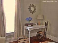 Our Vintage Home Love: DIY Writing Desk