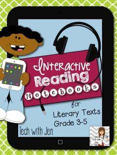 interact read, interact notebook, student, 5th grade, ela interact, read notebook, reading notebooks, school ela, 3rd grade