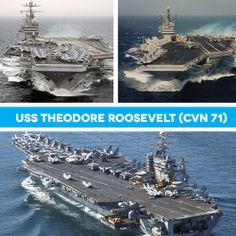 Have you served aboard USS Theodore Roosevelt? #CVN71 #AircraftCarrier