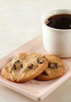Pudding-Chocolate Morsel Cookies -- Made with pudding mix and loaded with chocolate morsels, these chocolate chip cookies stay chewy even when sitting on the dessert table.