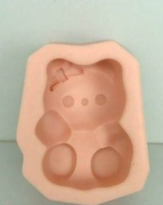 Hello Kitty Silicone Handmade Soap Molds