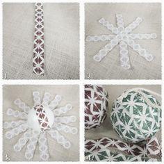 "Kristopher K: ""No Sew"" Christmas Ornament Tutorial"