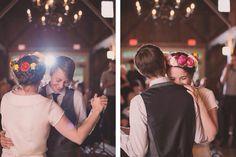 Dance weddingengag ring, lesbian ladi
