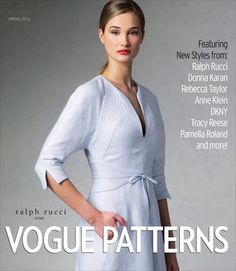 Vogue Patterns Spring 2014 Collection Lookbook