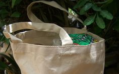 Cotton Grocery Bags (16 x 14) Canvas $3.99 each /12 for $2.50 each