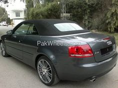 Audi A4 2007 for sale in Lahore. Almost brand new Audi A4 1.8T CONVERTIBLE..2007 model imported from UK in 2011..complete custom clearing papers with uk maintenance history.