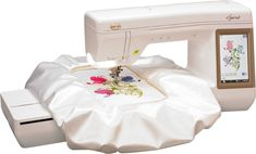 The brand new Spirit embroidery machine!