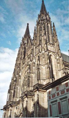 St Vitus Catholic Cathedral in Prague, Czech Republic