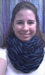 One Hour Arm Knit Cowl