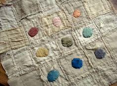 jude hill, quilt, color schemes, natural colors, party stuff