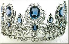 Diadema de la casa de Francia Borbon-Orleans